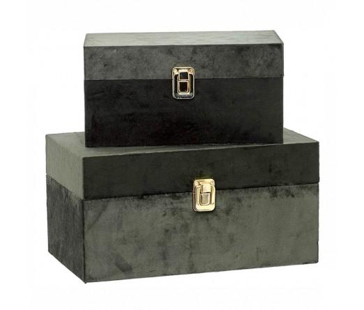 Conjunto 2 caixas decorativas IMPORCELOS 84270