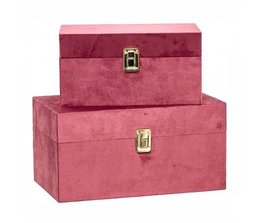 Conjunto 2 caixas decorativas IMPORCELOS 84275