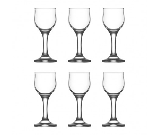 Conjunto 6 copos licor LAV NEVAKAR