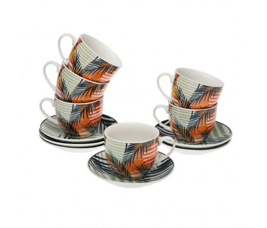 Conj. 6 chavenas cafe c/pires JOM Saona 2191-0014