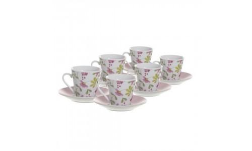 Conjunto 6 chávenas café JOM FLORAL 2776544
