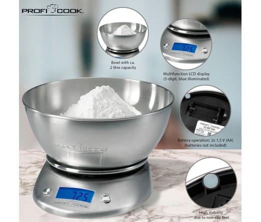 Balança de Cozinha PROFICOOK PC-KW 1040