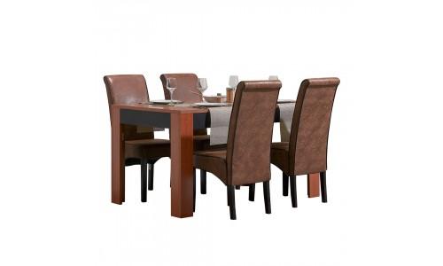 Conjunto Mesa + 4 Cadeiras JOM LAGOA / LW8318-10
