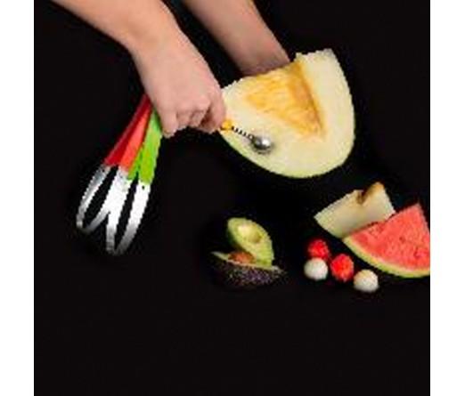 Colher multifuncional frutas QUID VEGGY
