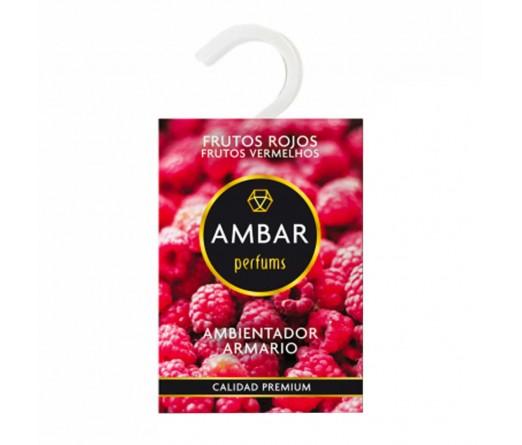 Ambientador para armario AMBAR FRUTOS VERMELHOS