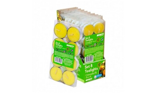 Pck8 t-light citronela JOM 82269