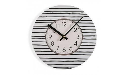 Relógio parede JOM Black line 1819-0750