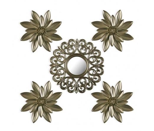 Conj. espelho mais 4 placas JOM 2176-0018