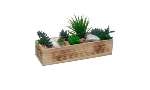 Caixa com Plantas Artificiais  43265