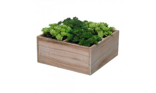 Caixa com Plantas Artificiais  43263