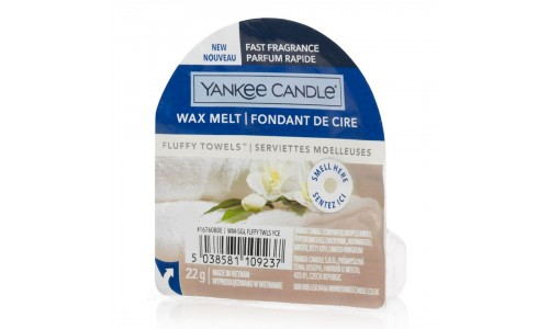 Tarte perfumada YANKKE CANDLE FLUFFY TOWELS 1676080E