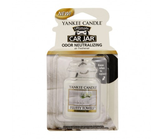 Ambientador carro YANKKE CANDLE 1220928 FLUFFY TOWELS