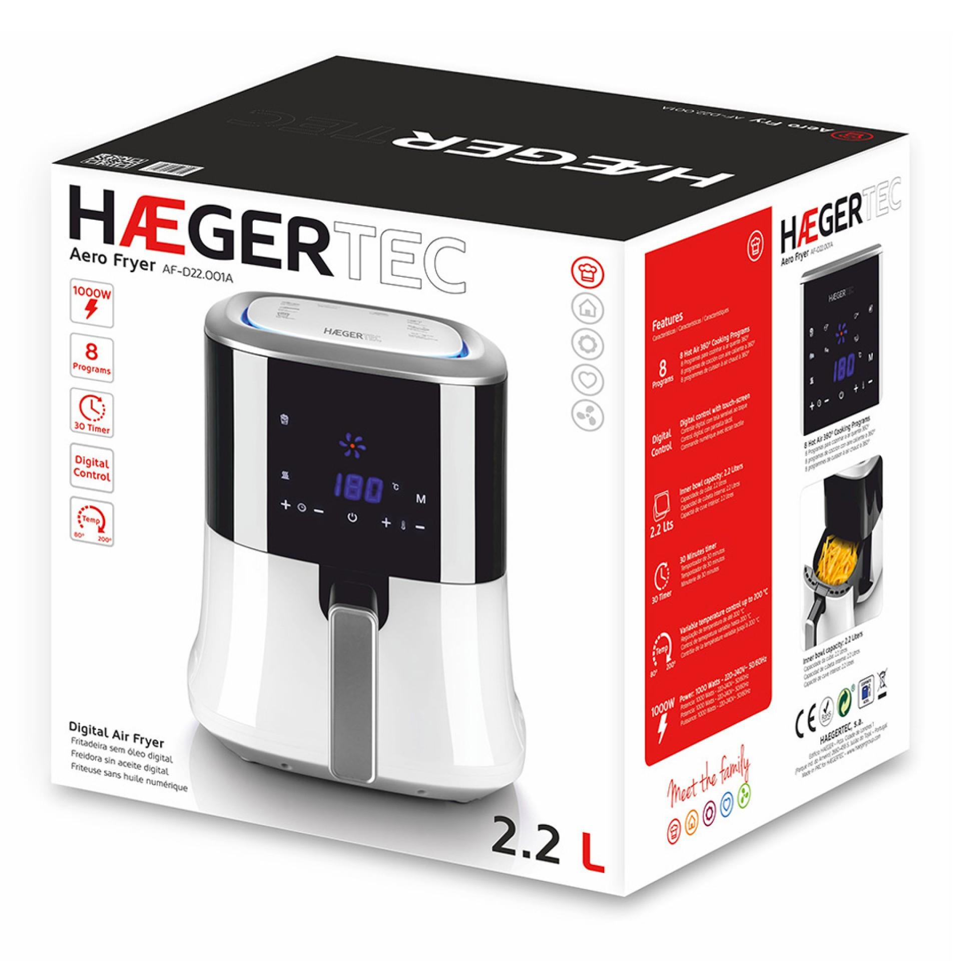 Fritadeira HAEGER AF-D22.001A